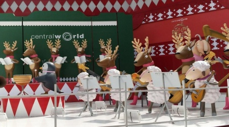Christmas Celebrations in a Buddhist country?