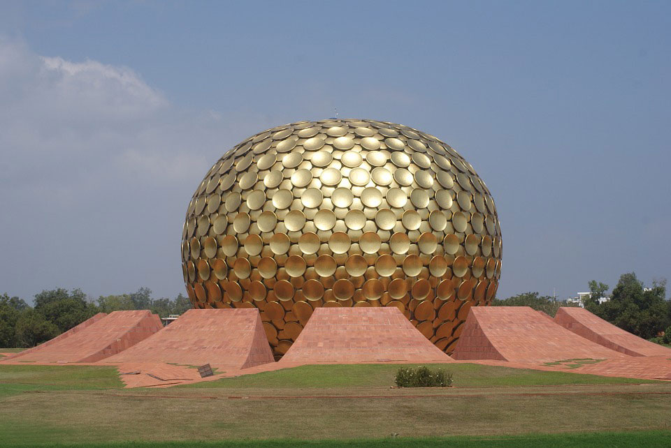 New Year morning Auroville